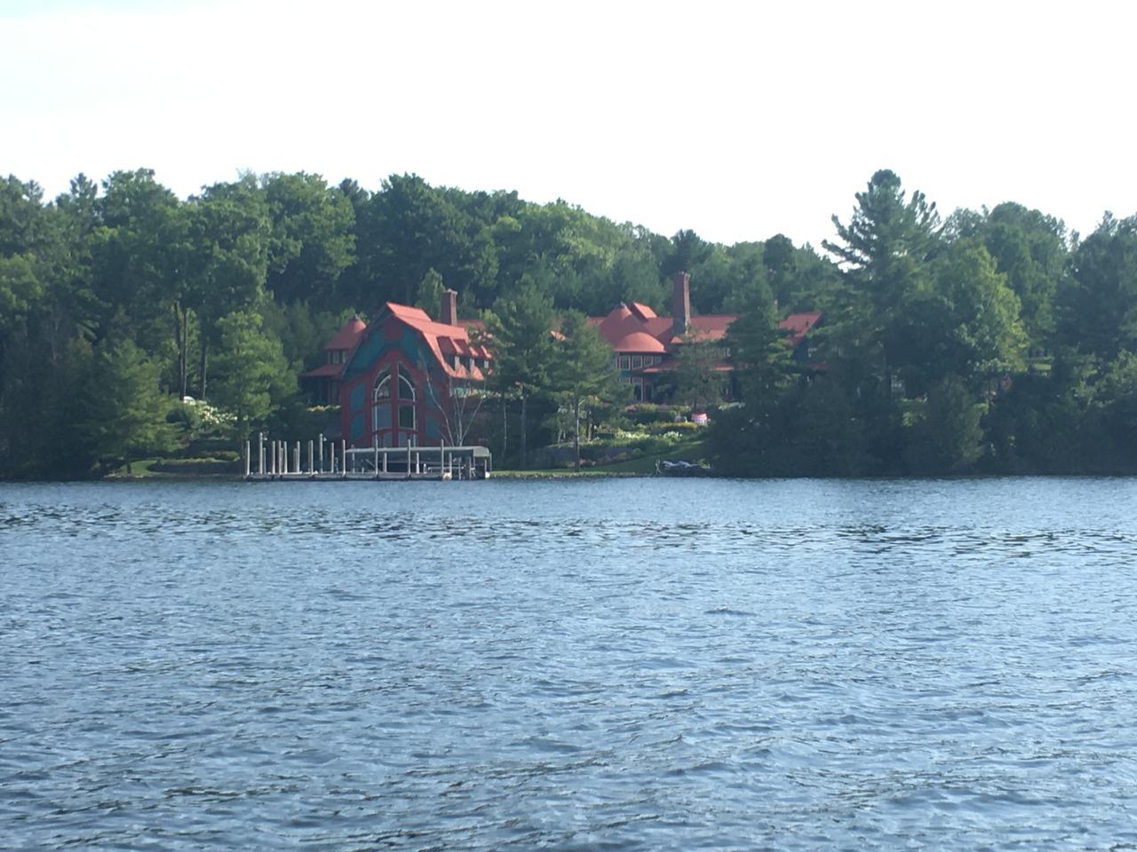 Lake Charlevoix Mansions